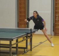 Tischtennis - Damen II gegen Sachsen