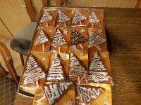 süße Christbäume von Annerose als Geschenk