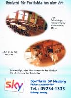 Sportheim Flyer